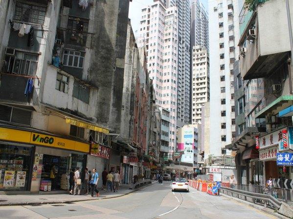 总能感受到香港七八十年代的缩影