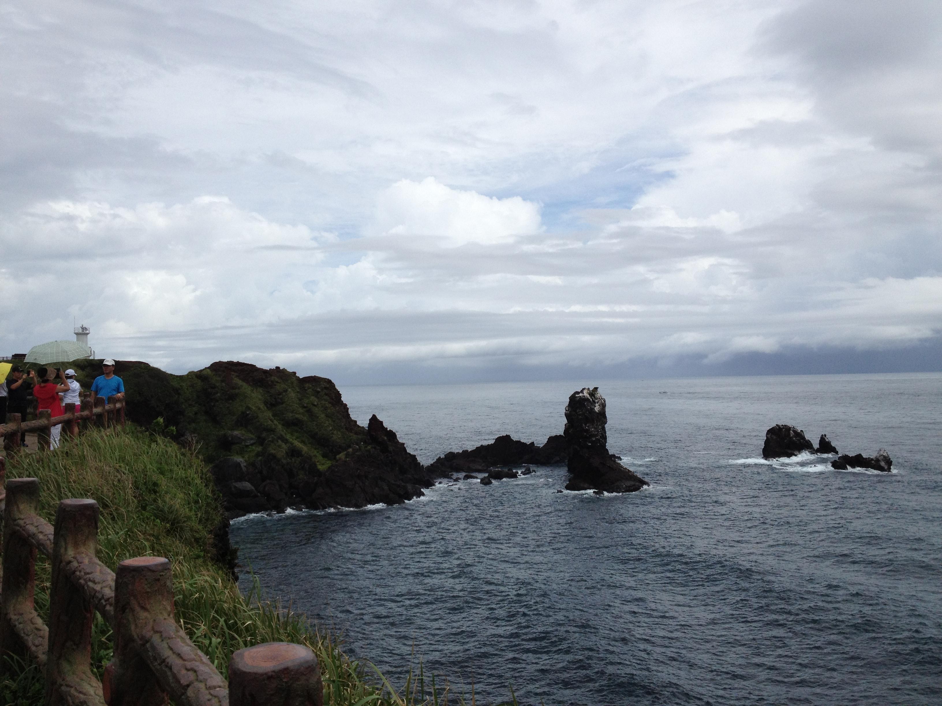 韩济州岛涉地岬