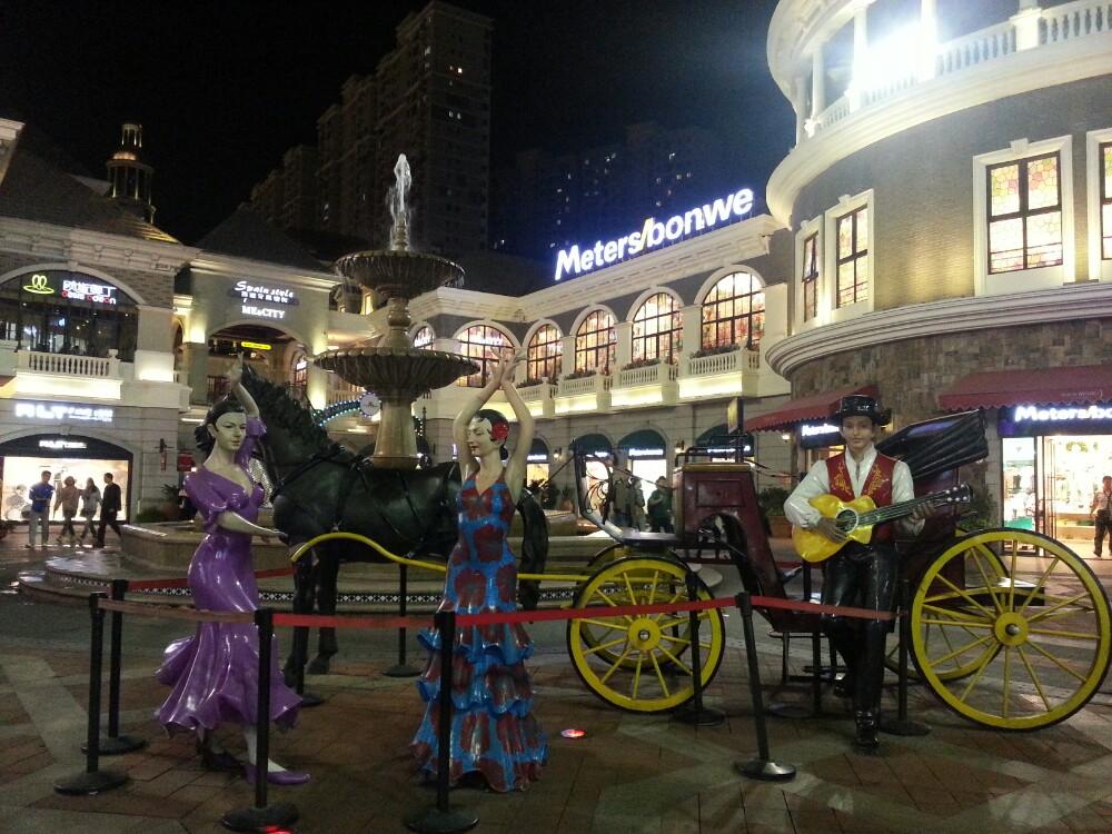 【携程攻略】武汉西班牙风情街购物