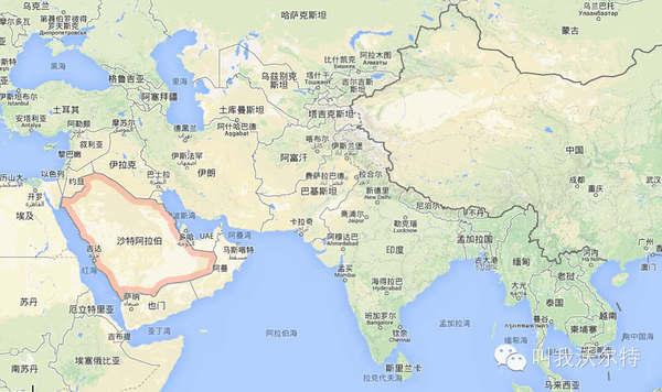 沙特阿拉伯地理位置图片 39338 600x356
