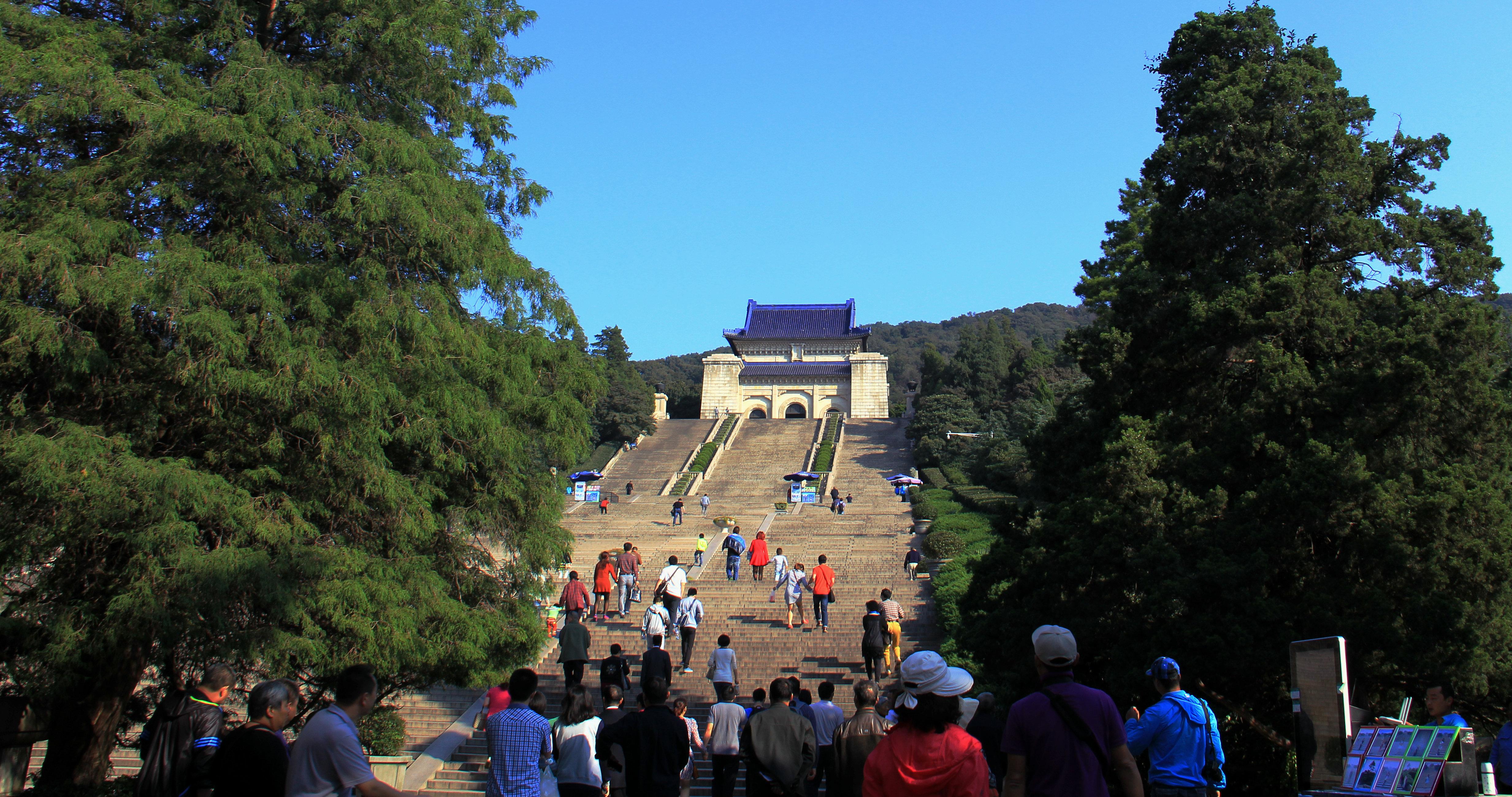 南京中山陵要不要门票 图片合集图片
