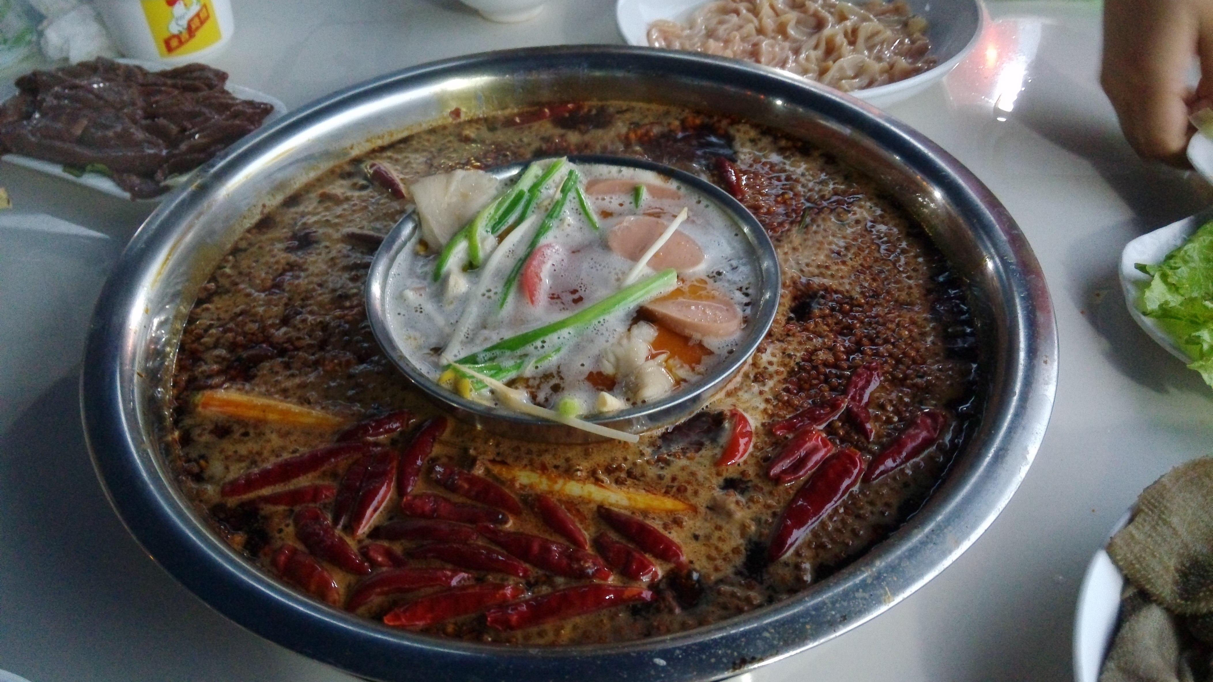 火锅材料都是以动物内脏居多!