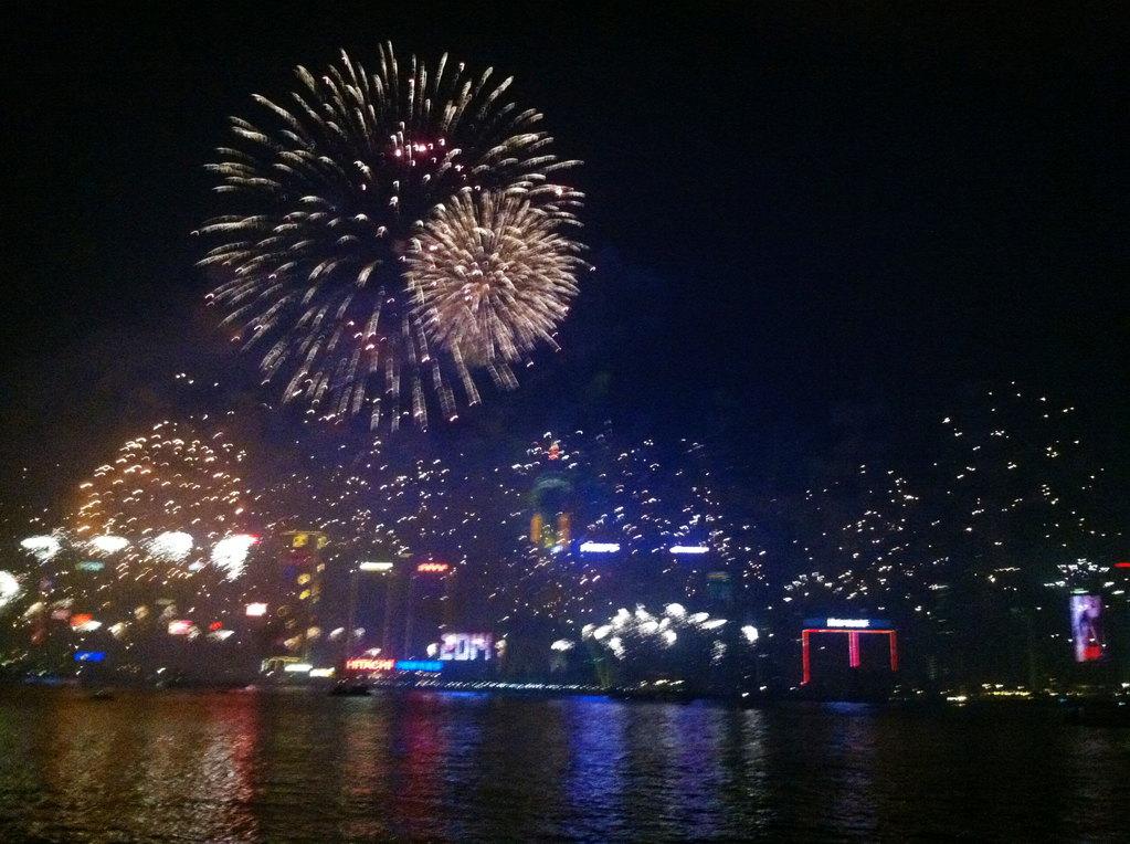 不一样的香港游——1314维港跨年倒数烟花大汇演,附吃货必备的港式图片