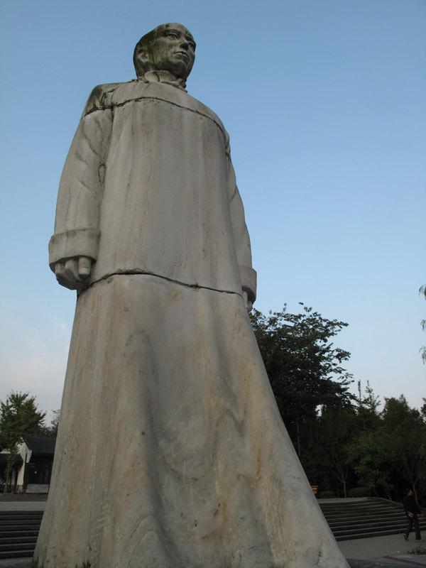 鹤壁市湘江中学雕塑