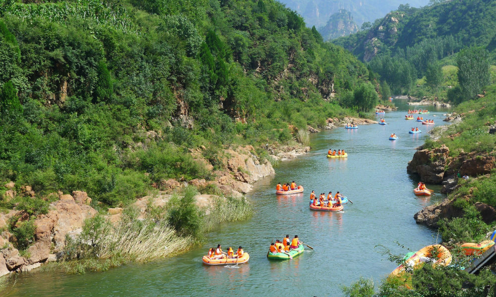 兴隆县红河漂流