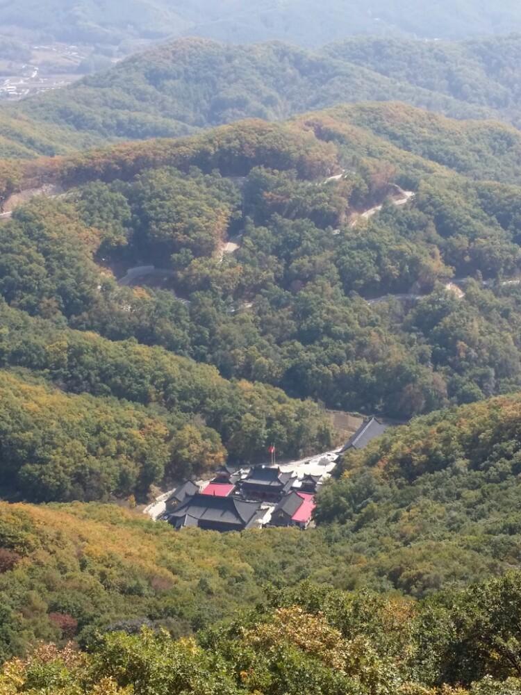吉林朱雀山游记图片