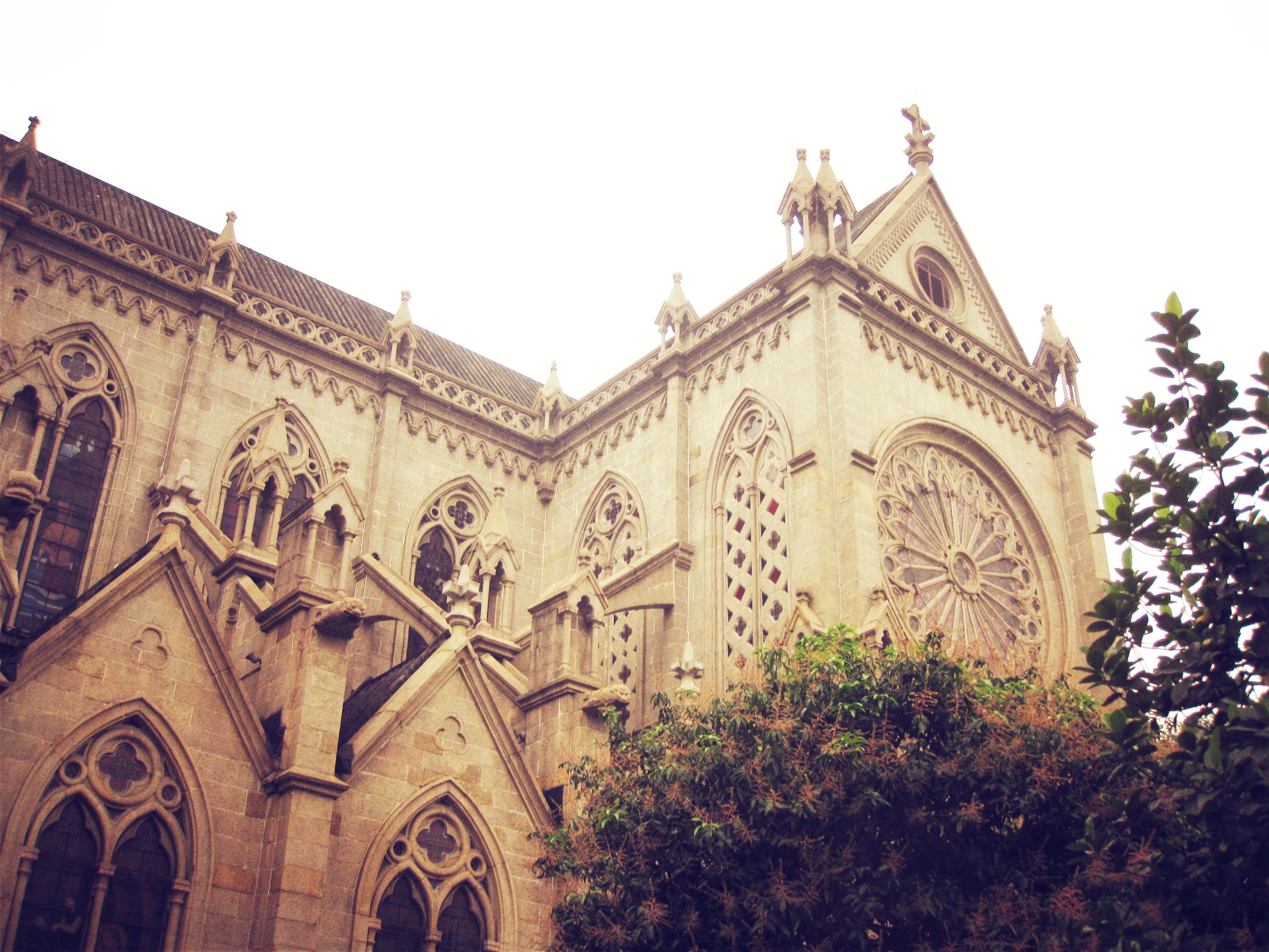 石室圣心大教堂,广州石室圣心大教堂攻略/地址/图片