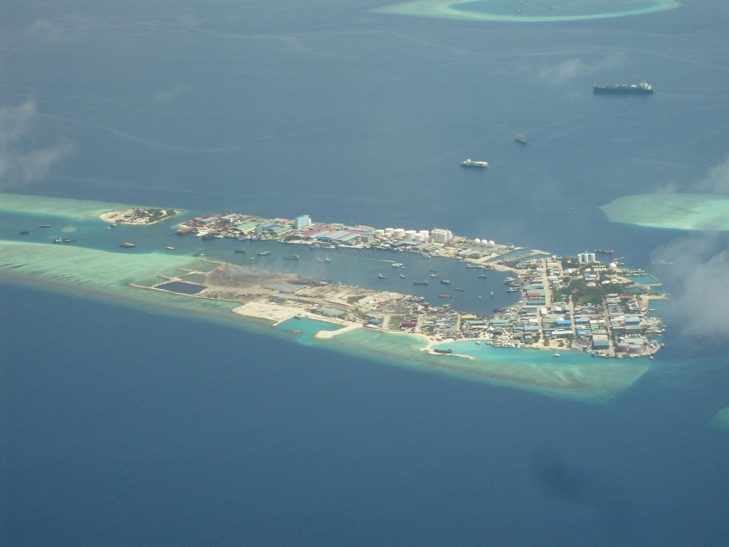 图说马尔代夫-diva岛(水上飞机航拍)