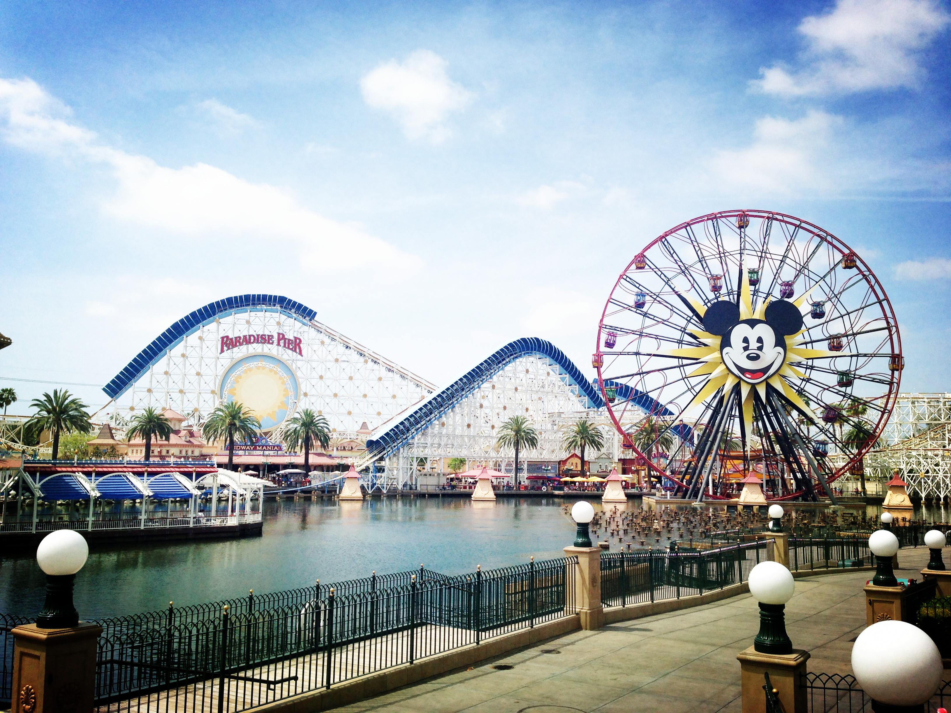 迪士尼加州冒险乐园