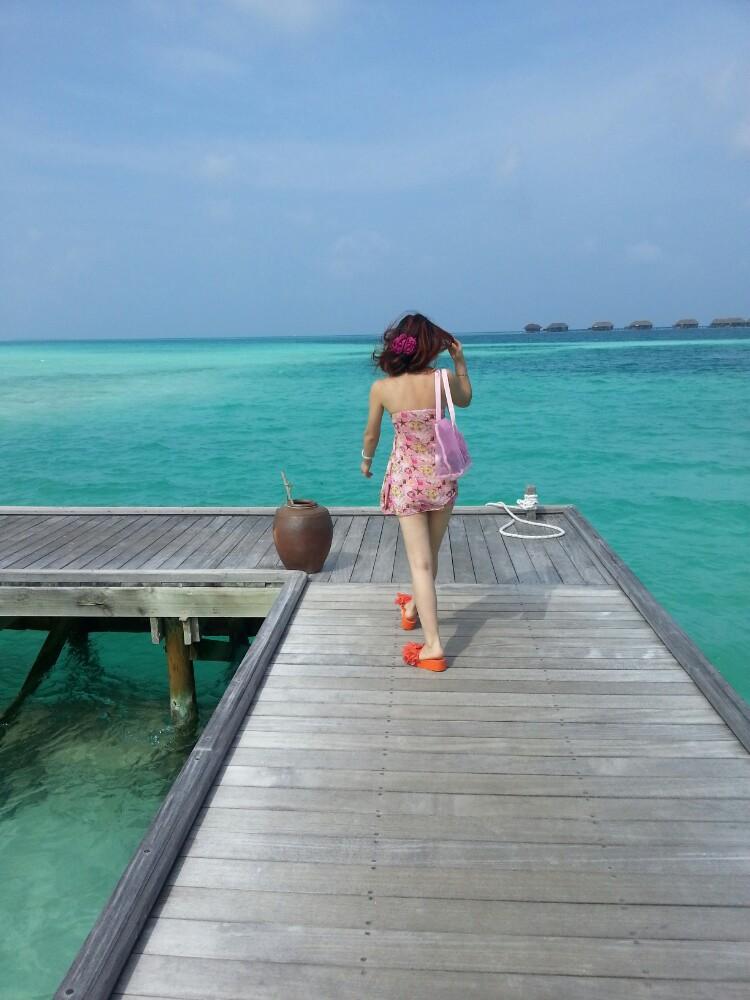 马尔代夫港丽岛蜜月之旅