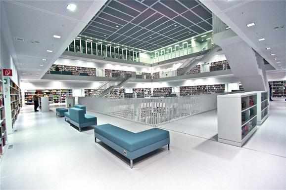 斯图加特市立图书馆图片