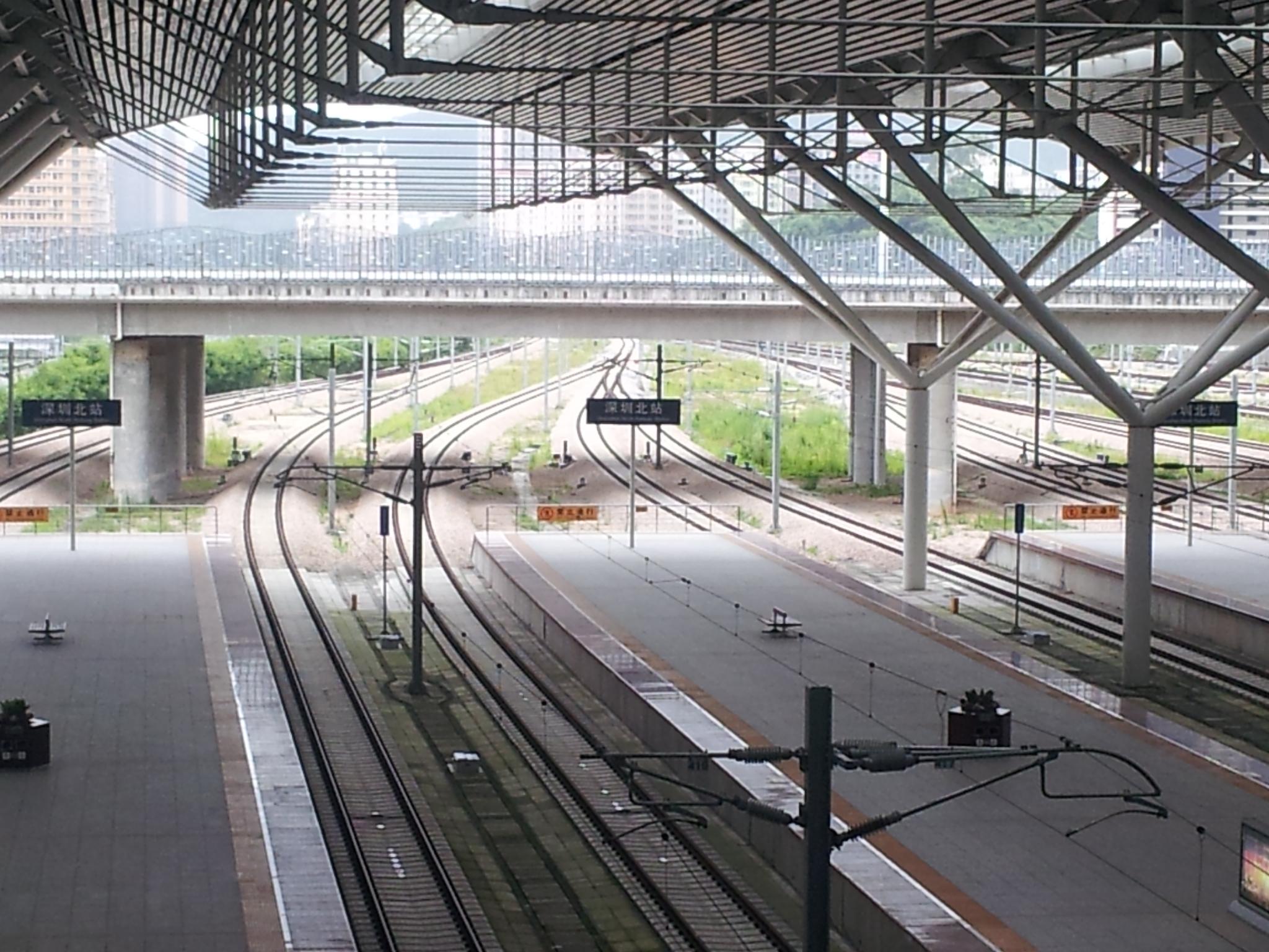 抵达深圳北站图片