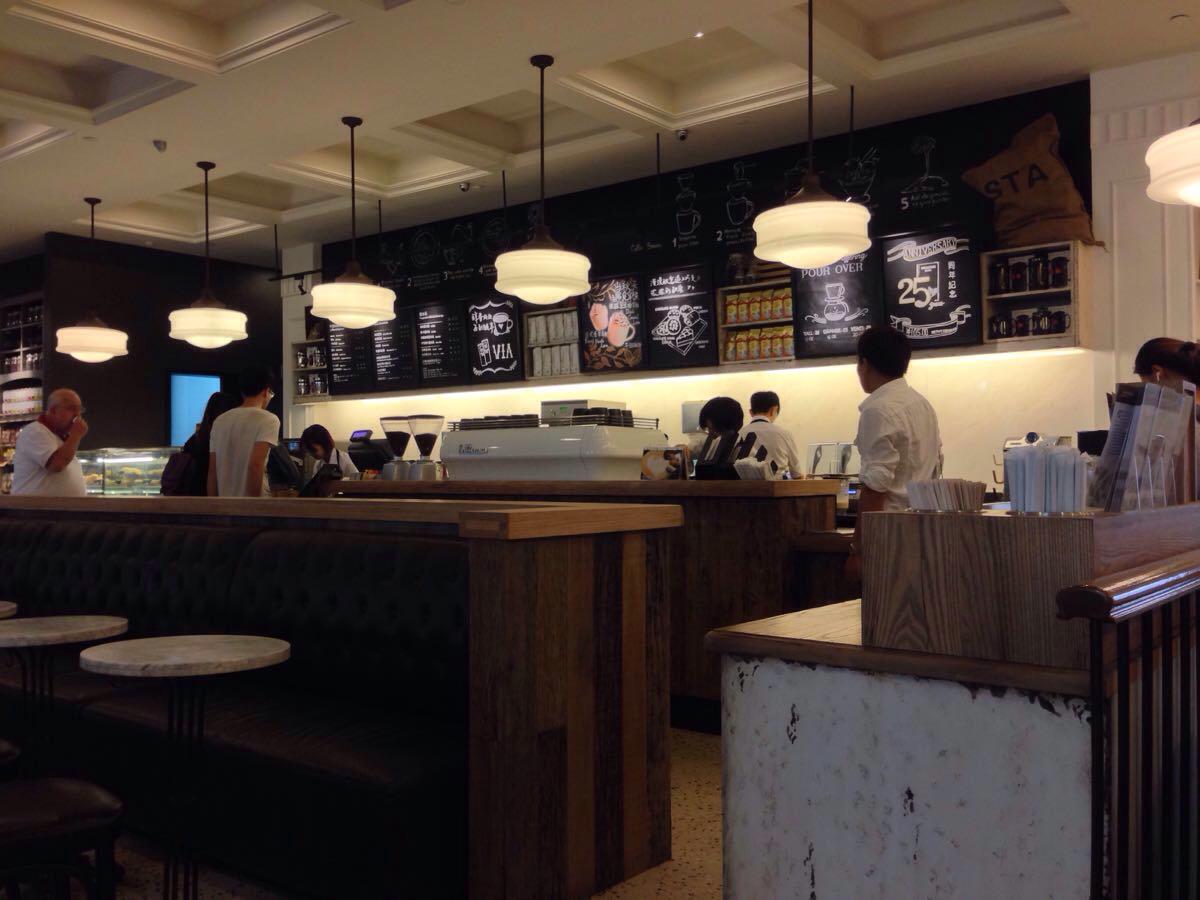 环境最好的星巴克咖啡馆-沙面店