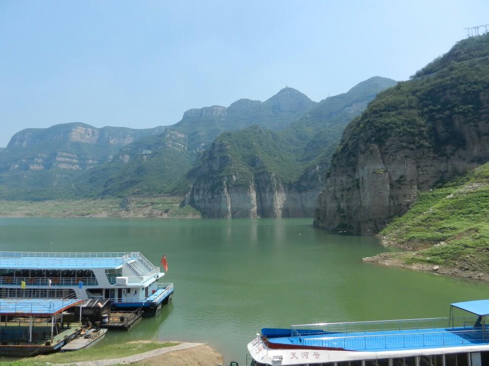上海浪底河南三峡热浪到攻略岛黄河景区图片