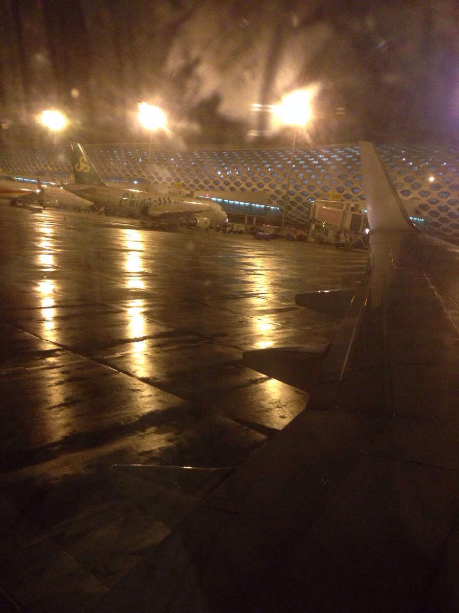 宝安机场飞机延误