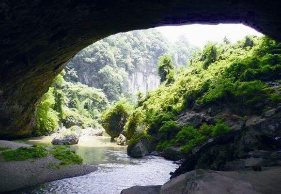 贵州省 黔西县地标 观音洞旧石器早期文化遗址 - 西部落叶 - 《西部落叶》· 余文博客