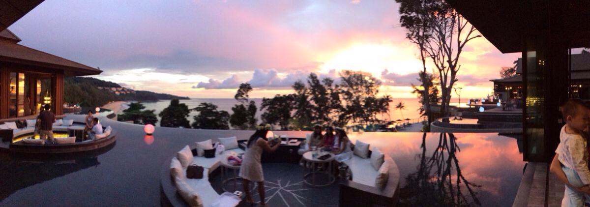 """beach(普吉岛阿卡狄亚奈通海滩铂尔曼度假酒店) 享受套餐中的""""中式"""