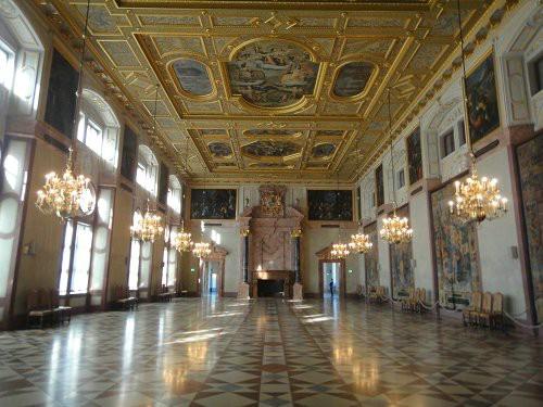 大气 欧式宫殿建筑