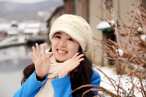北海道邂逅美女小夏_邂逅北海道的冬天