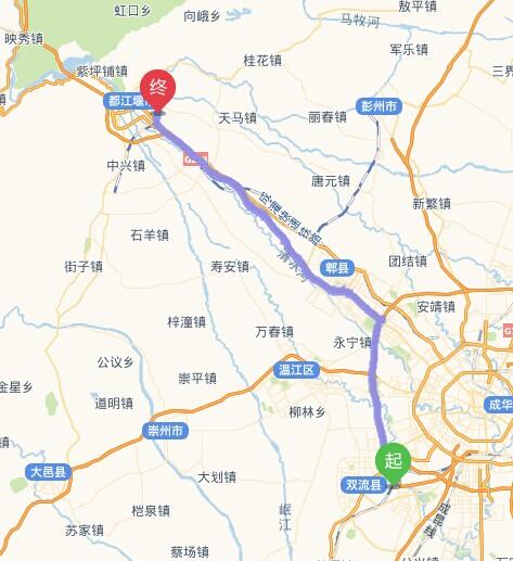 都江堰岷江万豪酒店#距离成都双流机场有多远?打车?