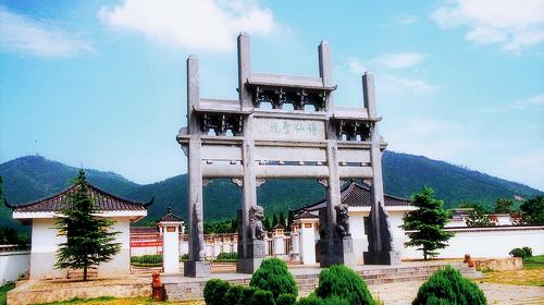 青山李白墓园