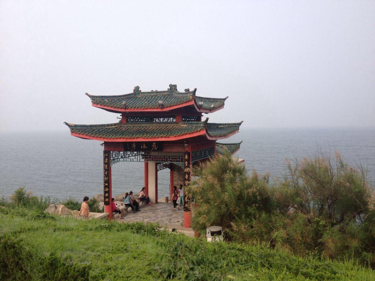 烟台山景区