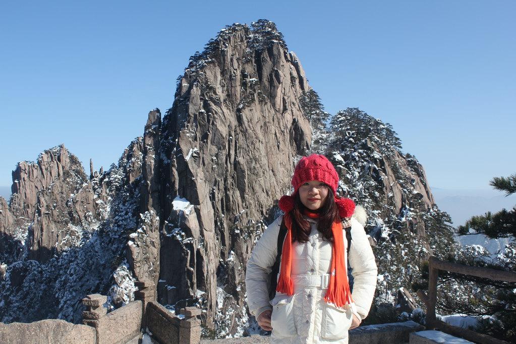上海到屯溪,黄山景区,宏村4天3晚自驾游.(观雪景)