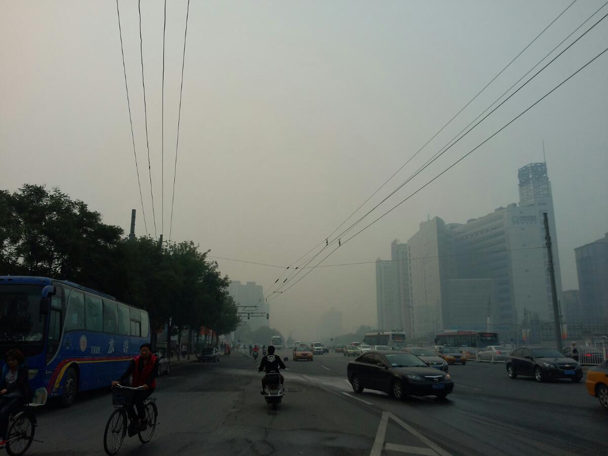 北京的雾霾