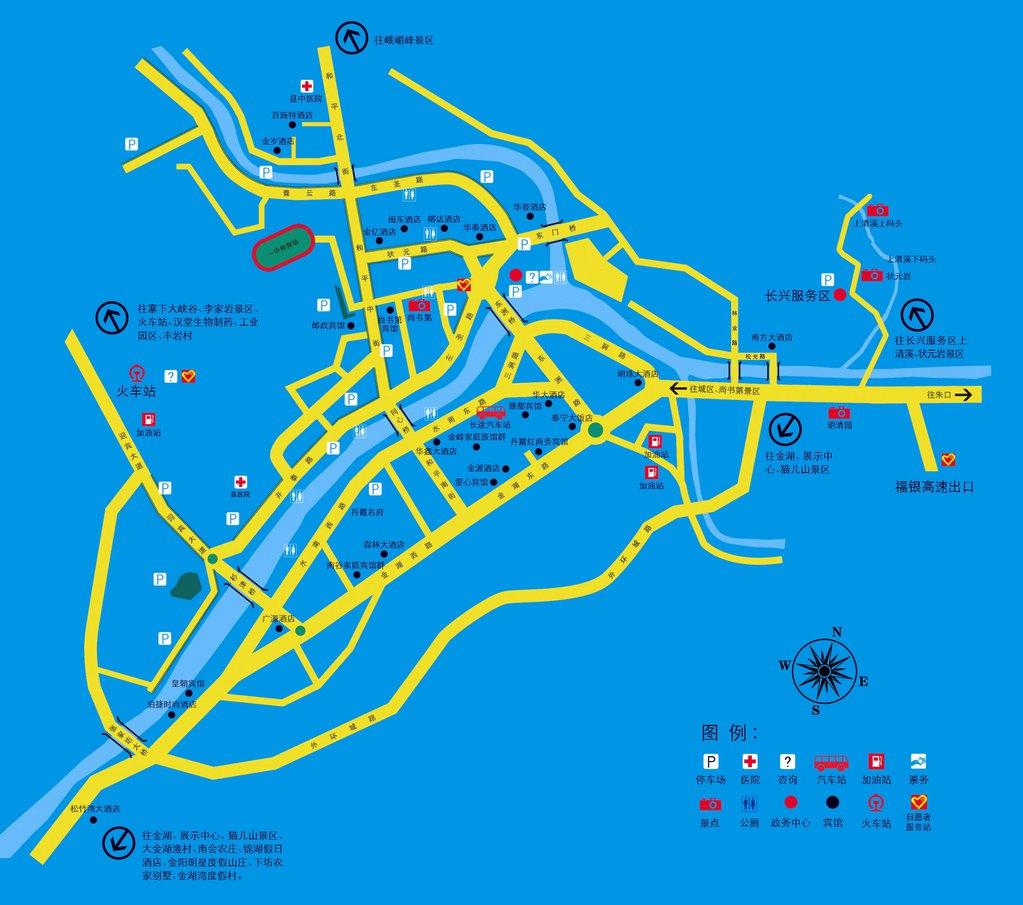 福建省泰宁地图