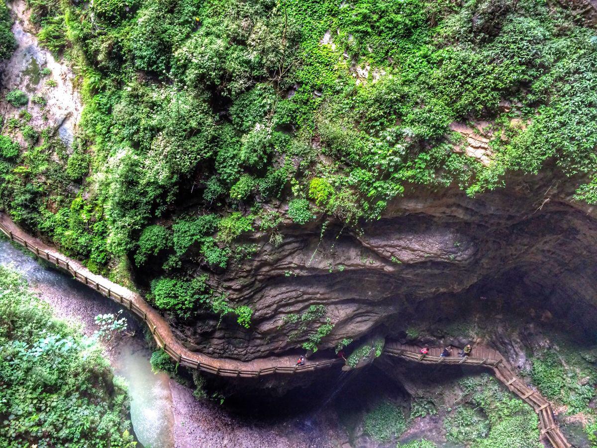 地����y.��(j_旅行摄影大赛#武隆天坑地缝景区