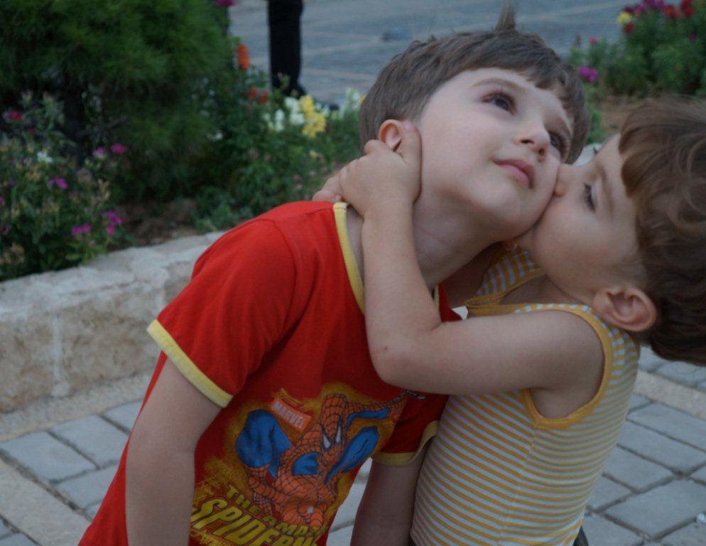 伊朗可爱的小孩