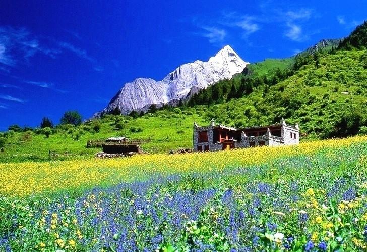 国外山区风景