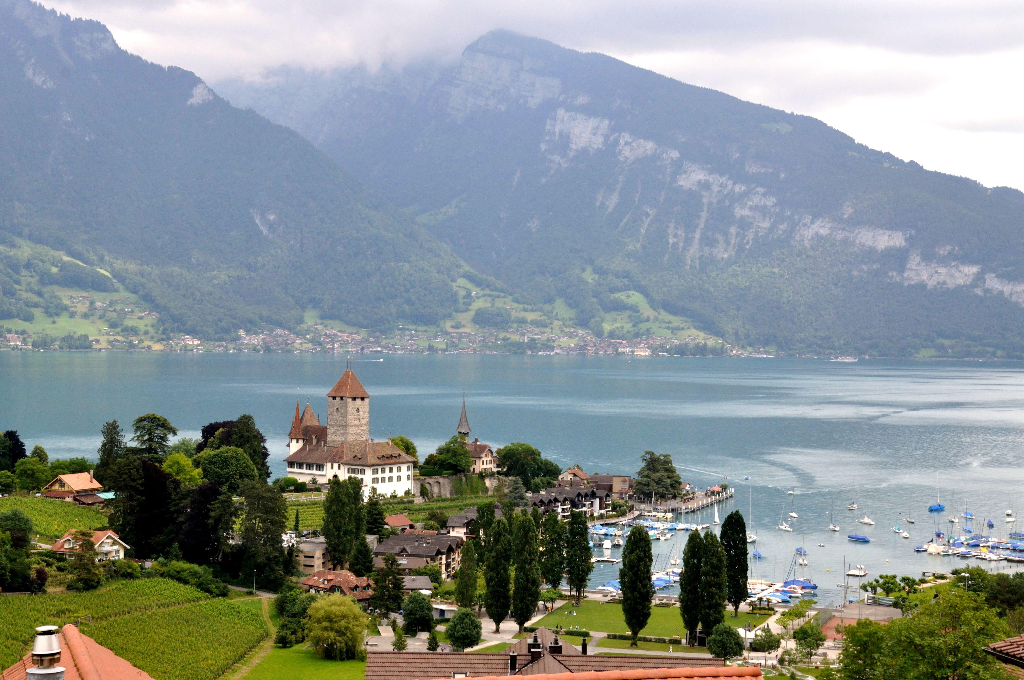瑞士阿尔卑斯山风景壁纸桌面_风景壁纸_电脑壁纸