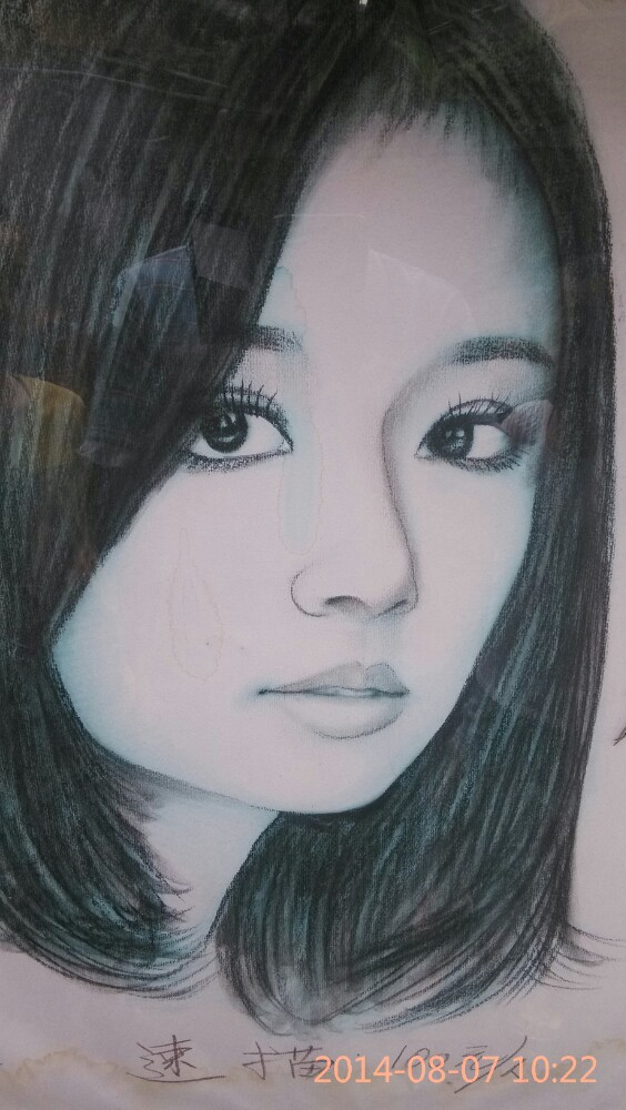 手绘人脸简单素描简单人脸素描入门画 手绘素描