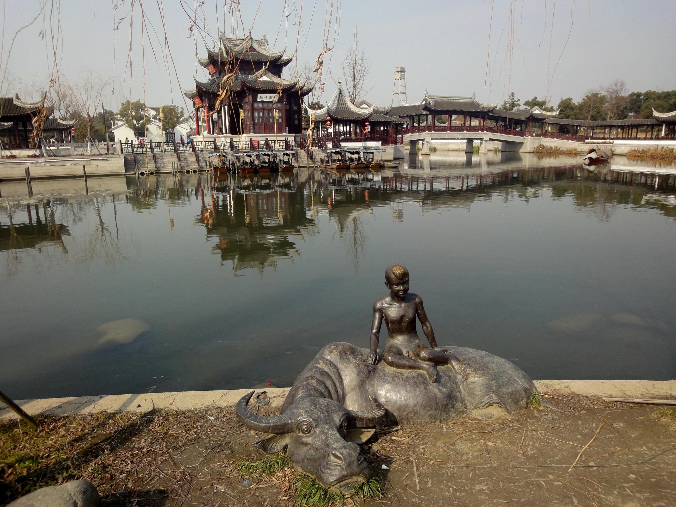 江南文化园高清图片