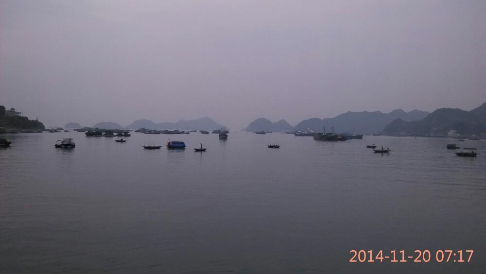 河内城市风景简笔画