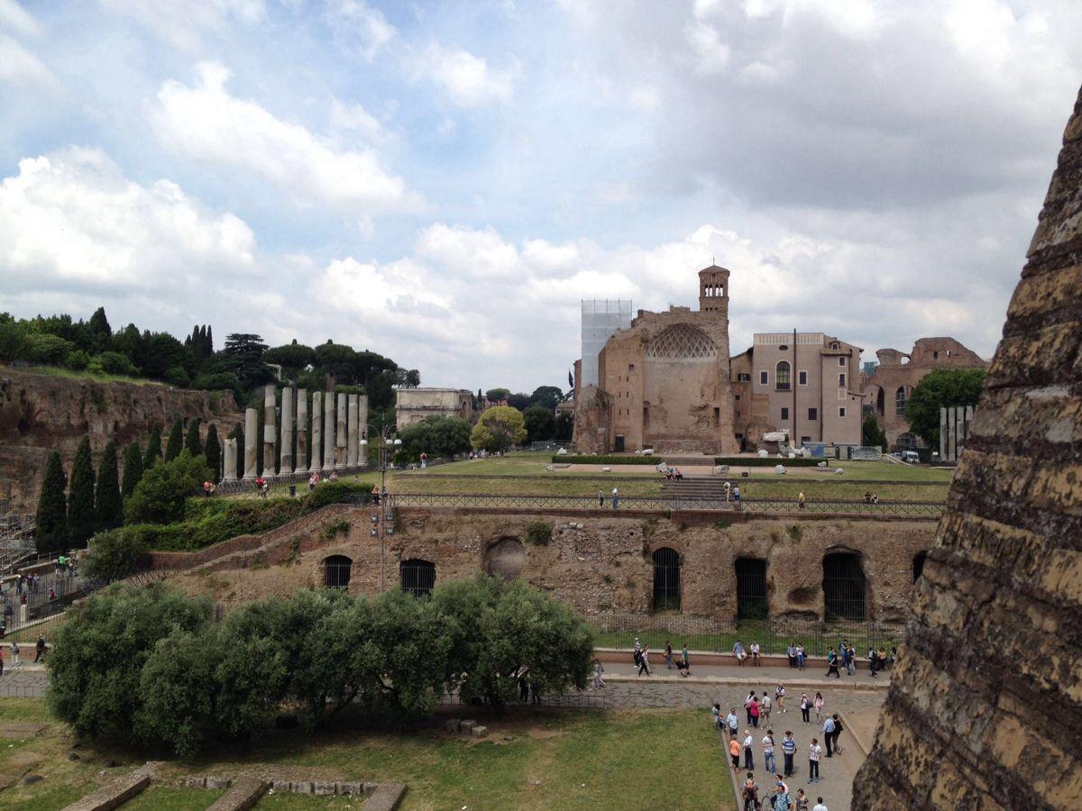 罗马遗迹真是叹为观止图片