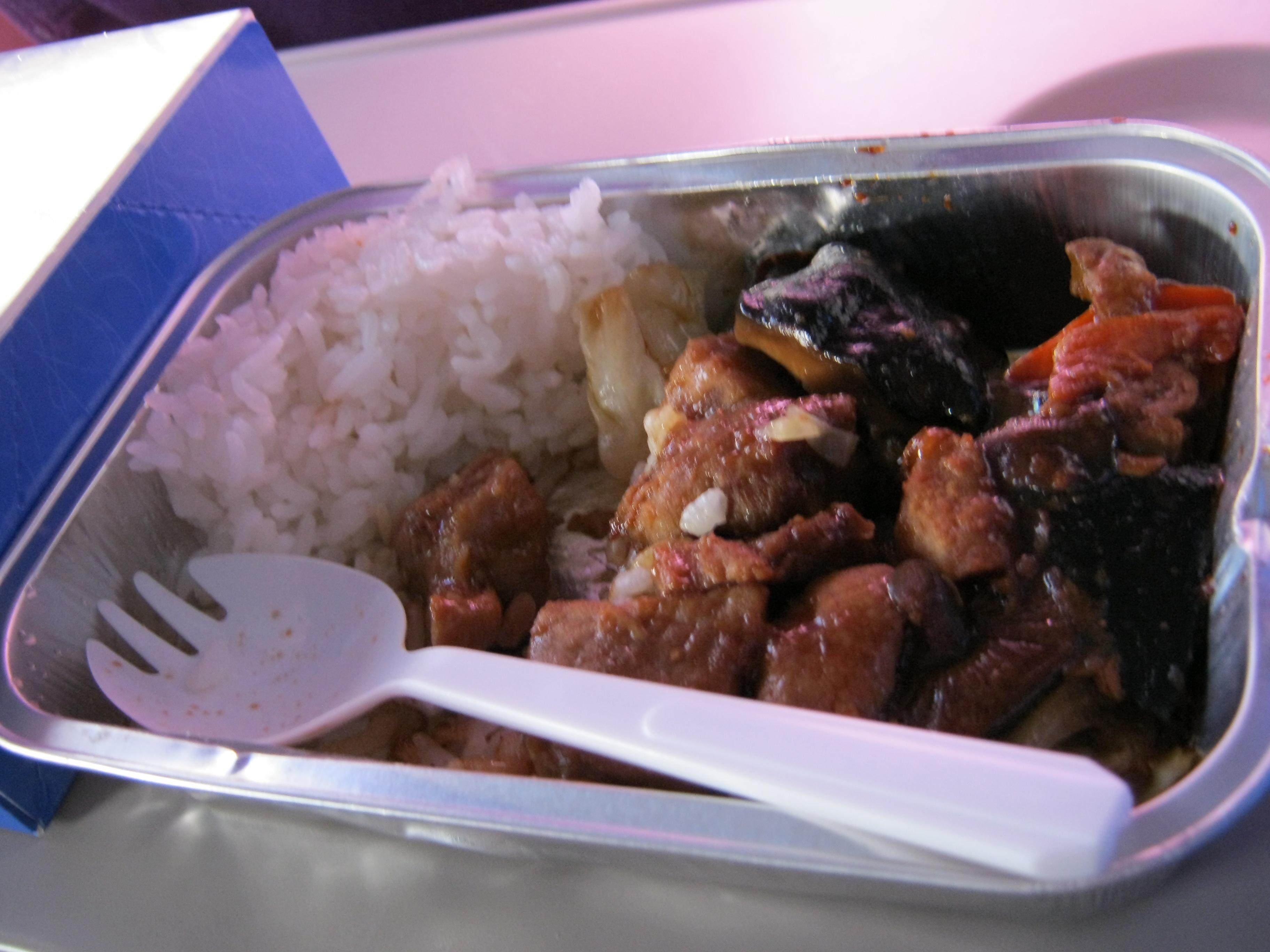 厦门航空飞机餐