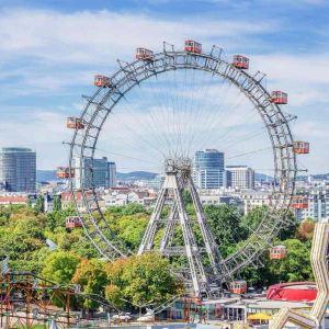 维也纳摩天轮旅游景点攻略图