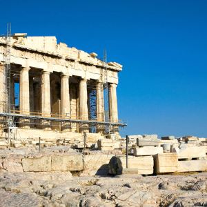 雅典卫城旅游景点攻略图
