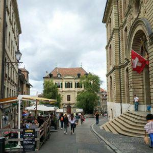 日内瓦旧城区旅游景点攻略图