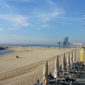 巴塞罗那塔海滩旅游景点攻略图