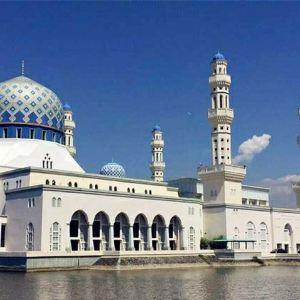 沙巴州立清真寺旅游景点攻略图