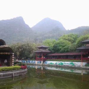 刘三姐大观园旅游景点攻略图