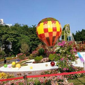 海心沙亚运公园旅游景点攻略图