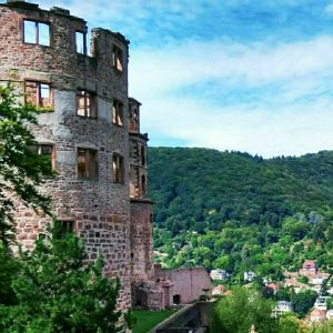 海德堡老城区旅游景点攻略图