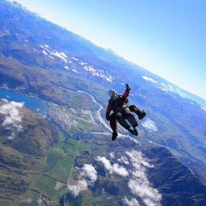皇后镇高空跳伞旅游景点攻略图