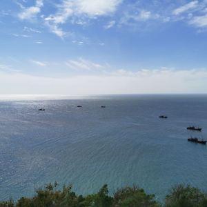 灵山岛旅游景点攻略图