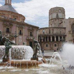瓦伦西亚圣女广场旅游景点攻略图