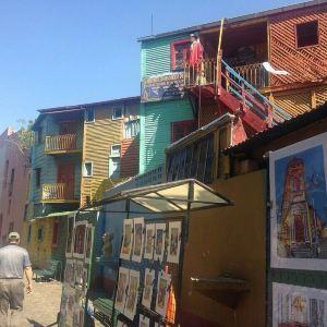 Calle Museo Caminito旅游景点攻略图